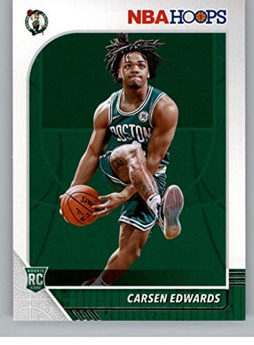 2019-20 NBA Hoops Basketball #227 Carsen Edwards Boston Celtics RC Rookie Card Official Panini Trading Card