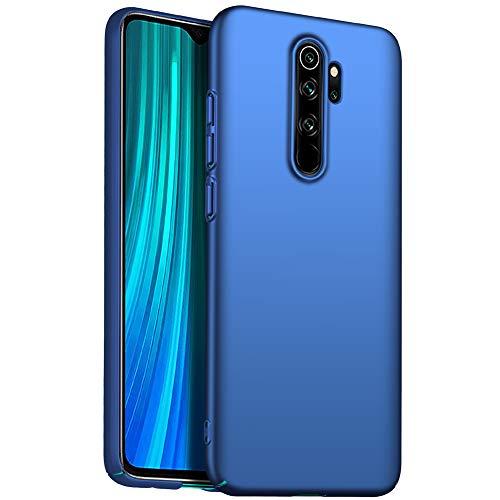 "Richgle Coque Xiaomi Redmi Note 8 Pro, Très Mince Rigide Coque Etui Housse Bumper Case pour Xiaomi Redmi Note 8 Pro (6.53"") - Bleu RG00894"