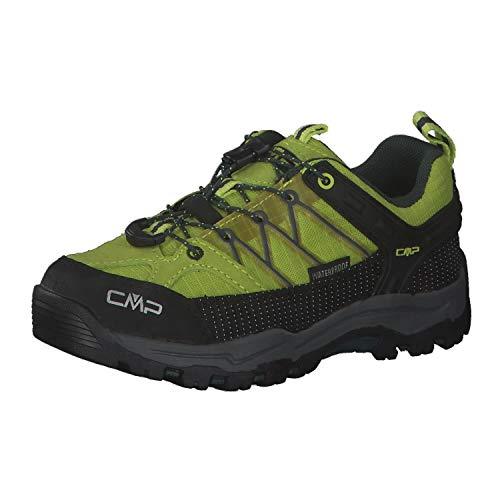 CMP Campagnolo Rigel WP Low-Cut Chaussures de Trekking pour Enfant Energy/Jungle 2020, Energy/Jungle, 36