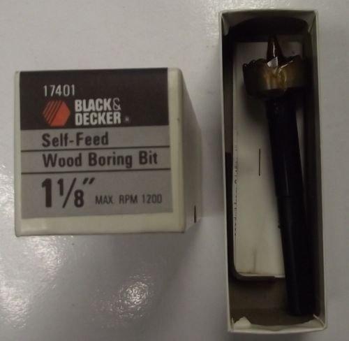 Black & Decker 17401 - Broca perforadora para madera (1-1/8 pulgadas)