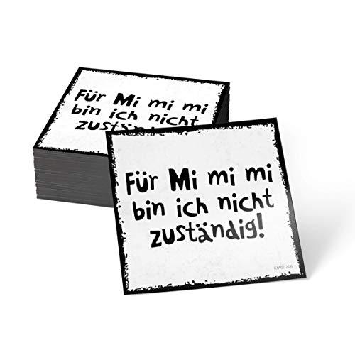 how about tee Für Mi Mi Mi Bin ich Nicht zuständig - Kühlschrank- / Whiteboard-Magnet-Folie