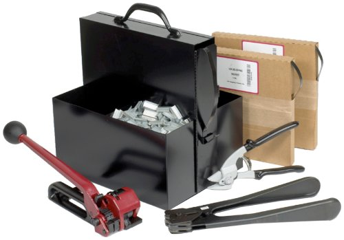 PAC Strapping SK68 Portable Steel Strapping Kit with Carrying Case, 3/4