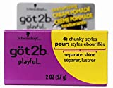Got2b Playful Texturizing Crème Pomade, 2-Ounce (Pack of 3)