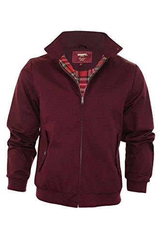 Merc HARRINGTON,Jacket - Abrigos de manga larga para hombre, color wine, talla Small