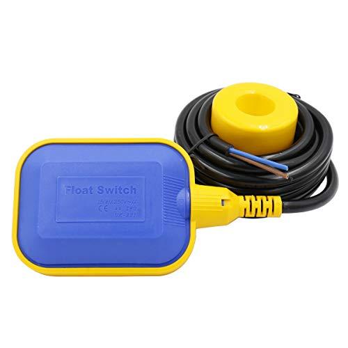 Heschen Float Switch 4M Cable Controlador de nivel de agua para tanque de agua, bomba de sumidero