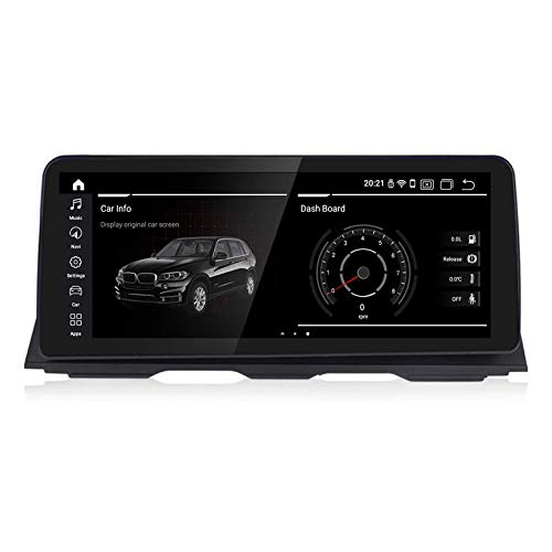 JIBO para B M W Serie 5 F10 / F11 / 520 2011-2016 Android 10.0 Auto Radio GPS Navegación Cabeza Unidad 12,3' Tocar Pantalla Multimedia Jugador SWC Bluetooh Video Receptor,NBT