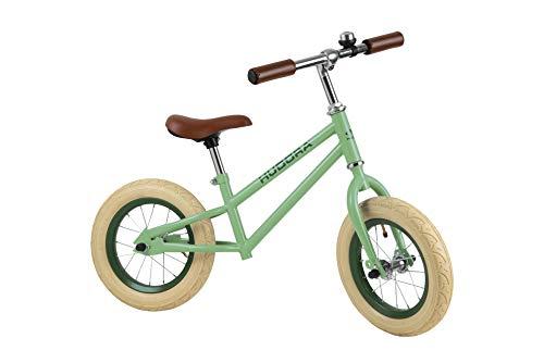 HUDORA Retro Boy-Bicicleta Infantil (neumáticos de 12', a Partir de 3 años), Color Verde, (10430/00)
