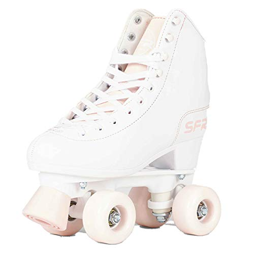 SFR Figure Rollschuhe weiß-rosa Mädchen weiß-rosa, 40.5