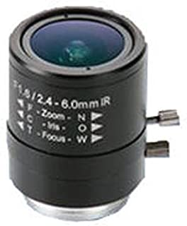 Axis Communications 2.4-6mm f/1.6 Manual Iris Varifocal Lens for M1103/M1104 Network Cameras