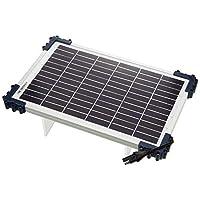 Optimate TecMate Solar with 10Watt Solar Panel TM524B Solar Impulse Charger Testing & Maintenance Charger for 12V Batteries, 10W Solar Panel