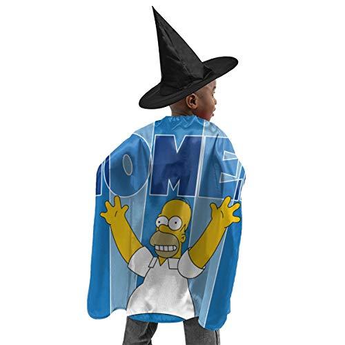 CrazyCoolArt Simpson Homer - Juego de disfraz de bruja de Halloween