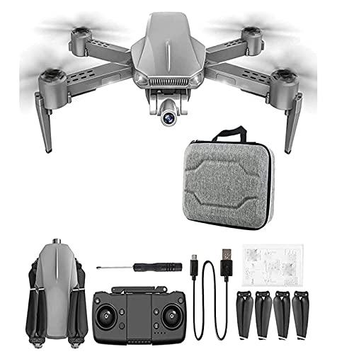 JJDSN Quadricottero 4K, Drone con Fotocamera, Raggio di Volo 1200 Metri, Surround di Posizionamento GPS+, Scatto con riconoscimento dei gesti, Dimensioni 35327 cm