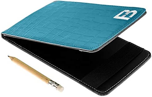 Fuzzy Bunkers Quality Leather Golf Scorecard Holder Yardage Book Cover Plus Free Golf Pencil product image