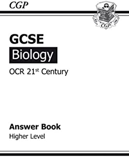 GCSE Biology OCR 21st Century Answers (for Workbook) - Higher