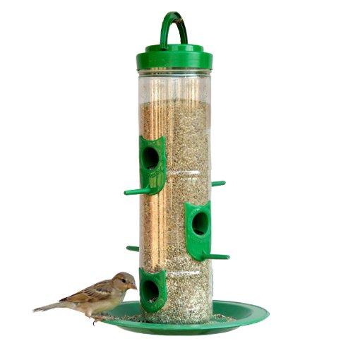 Amijivdaya Large Bird Feeder with Holding Handle (Pack of 1)