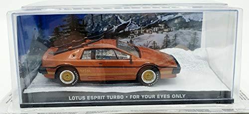 Die Cast PLTS Modellino Lotus Esprit Turbo - Solo per i Tuoi Occhi - 007 Scala 1:43 S038.