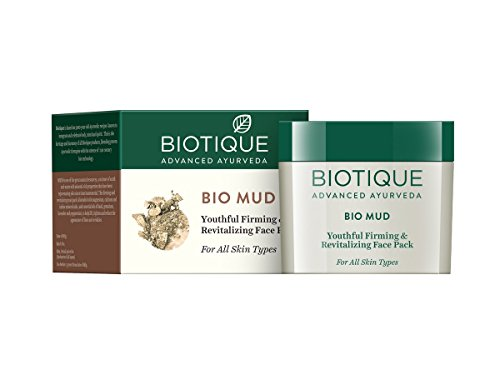 Biotique Mud Ageless Firming and Revitalizing Face Pack for All Skin Types
