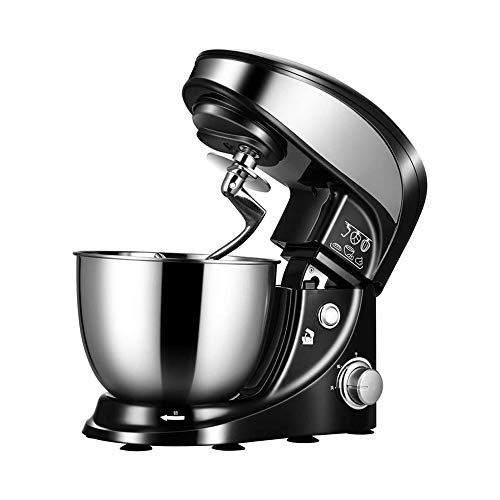 LKNJLL Mixer (Electric Mixer for Everyday Use): 3 Speed Stand Mixer with 4 qt Stainless Steel Mixing Bowl, Dough Hooks & Mixer Beaters for Dressings, Frosting, Meringues & More