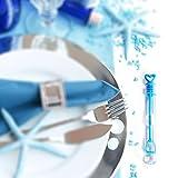 WeddingTree® Premium Seifenblasen Set in Regenbogen-Farben - 48 teilig mit Herzgriff - herzallerliebst für Hochzeit Taufe Geburtstag Goldene Hochzeit Verlobung Valentinstag Gastgeschenk Party - 2