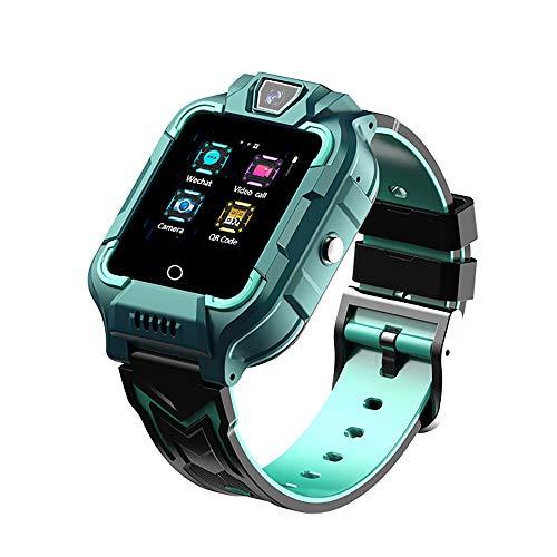 M66 Kids Smart Watch, 4G Smartwatch Teléfono con rastreador de posicionamiento GPS, Reloj WiFi Sports Watch con Llamada SOS Cara Reconocimiento, Pulsera electrónica Teléfono Multifuncional