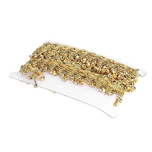 Chaîne de Ventre à la Mode, 450x9x1cm Tassel Décoration Body Accessoires Bijoux Faits de Jute (Or, Argent)