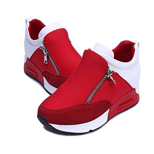 Sneaker Damen Aberimy Laufschuhe Damen Sneaker Sportschuhe Turnschuhe Straßenlaufschuhe Laufschuhe DäMpfung Leichte Atmungsaktiv Running Schuhe Sportschuhe Sneaker für Damen Mädchen 35-42丨1003