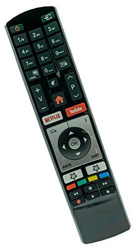 Mando a distancia de repuesto para Telefunken RC4318 Vestel Finlux Receptor TV Control remoto