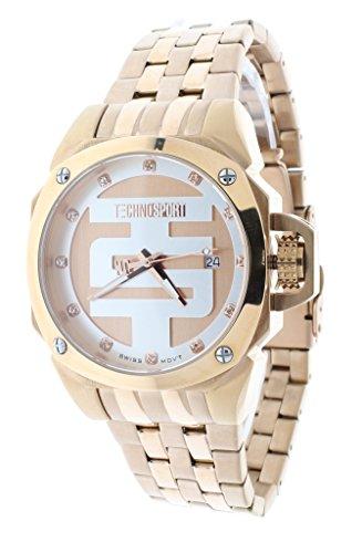 Techno Sport Chrono Reloj para mujer - Oro Rosa