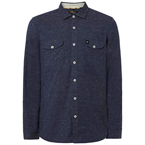 O'NEILL Lm Violator - Camicie/Camicette da Uomo, Uomo, Camicie, 9P1306, Inchiostro Blu, L