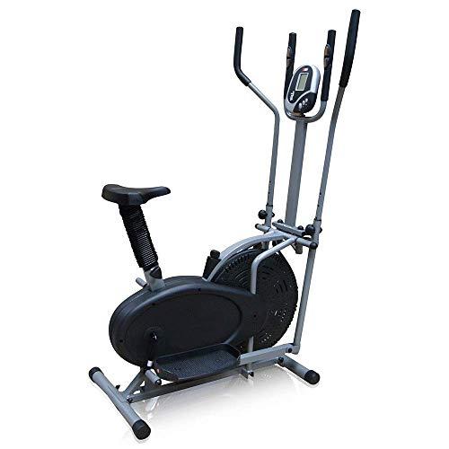 LHQ-HQ Entrenador elíptico de fitness elíptica Cross Trainer Ejercicio Máquina for la aptitud acondicionamiento de la fuerza entrenamiento en casa o en el gimnasio for habitaciones pequeñas, Apartamen