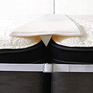 Sponsored Ad - Pure Siesta Bed Bridge Twin to King Bed Converter Kit Split King Bed Gap Filler with Adjustable Strap