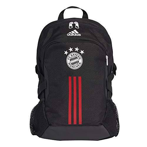 adidas FC Bayern Backpack Rucksack, Black/Fcbtru/White, NS