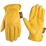 Men's Deerskin Full Leather Light-Duty Driving Gloves, Large (Wells Lamont 962)