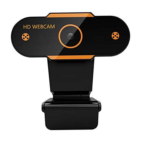 HD 2K / 1080P / 720P / 480P Webcam Câmera Com Foco Automático Na Web Com Microfone Para PC Desktop - Foco fixo 720P