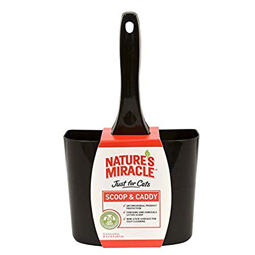 Nature#039s Miracle NonStick Antimicrobial Scoop amp Caddy P82036