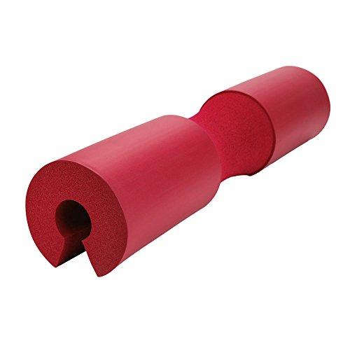 Vbest life Barbell Squat Pad Nacken- und Schulterschutzkissen Gewichtheben Barbell Fitness Squat Pad(rot)
