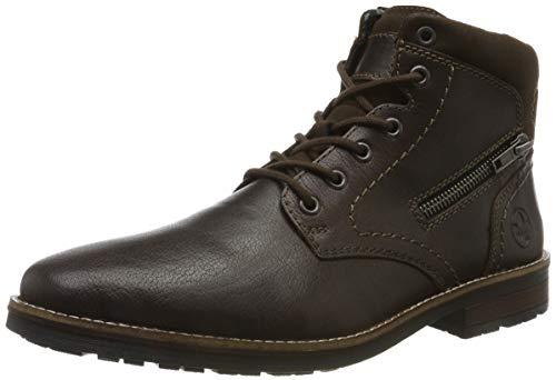 Rieker Herren 33211 Klassische Stiefel, Braun (Mokka/Moro 26), 41 EU