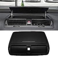 車のダッシュボードセンターエアコンアウトレットベントフィット感のためのシュコダオクタビアフィット感2004-2013 (Color : Black)