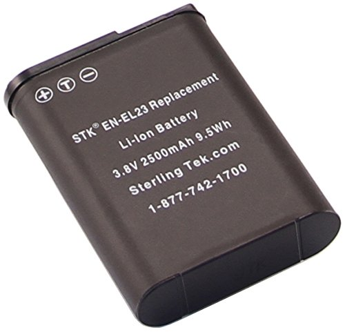 STK EN-EL23 Battery for Nikon Coolpix P900, B700, P610, P600, S810c Cameras