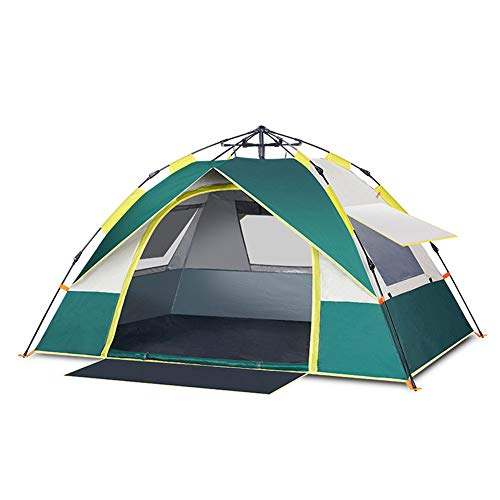N / A Explorer Automatic Tent With Storage Bag, 210D Rubber Waterproof Oxford Material, Double Uv Protection Fully Automatic Quick Opening, Easy To Store