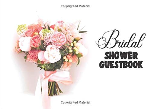 Bridal Shower Guestbook: Guestbook - 150 pages - (8,25