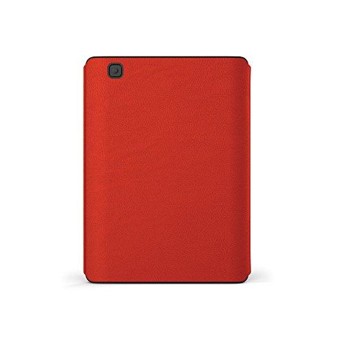 Kobo Cover Sleep per Aura in Pelle Rosso