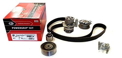 Kit de correa de distribución Gates + bomba de agua y junta instantánea XtremeAuto® KP25649XS-1 – Incluye adhesivo XtremeAuto