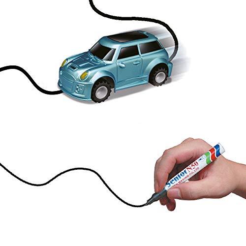 DROHNENSTORE24.DE ...DER DROHNEN-GURU DS24 Induktiver Kleinwagen Spielzeug Fahrzeug mit magischem Stift Gadget
