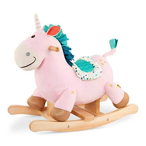 B. toys by Battat- B. Rocking Unicorn en Rose, BX1936Z