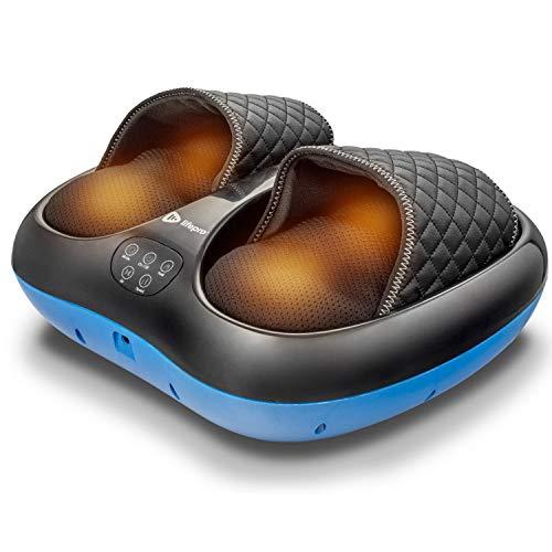 Lifepro Shiatsu Foot Massager with Heat for Pain Relief, Circulation, Plantar Fasciitis, Diabetic Neuropathy - Acupressure, Compression, Deep Kneading Power Massager for Women, Men, Seniors