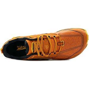 ALTRA Men's ALM1855L Lone Peak 4 Low RSM Waterproof Trail Running Shoe, Burnt Orange - 9.5 M US