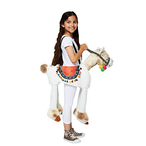 Amscan RLL - Disfraz infantil de lama para montar (unisex, 98-128 cm), multicolor , color/modelo surtido