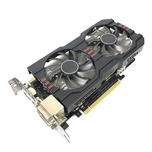 BMNN Scheda Grafica Scheda Video Fit for ASUS GTX 660 da 2 GB 192BIT Schede Grafiche GDDR5 per NVIDIA GeForce GTX660 Schede VGA più Forte di GTX 750 Ti Scheda Grafica
