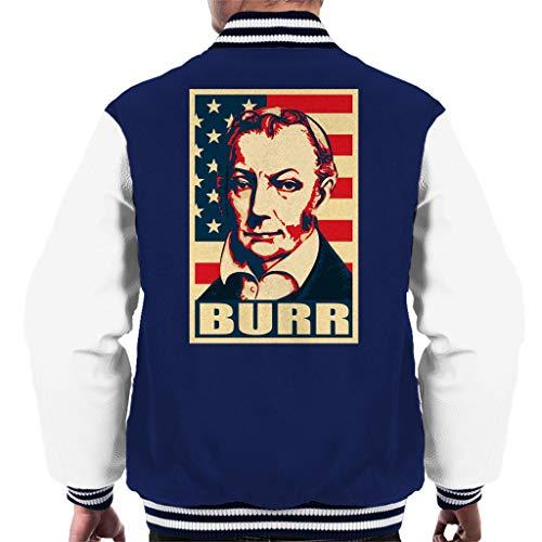 Cloud City 7 Aaron Burr American Flag Men's Varsity Jacket